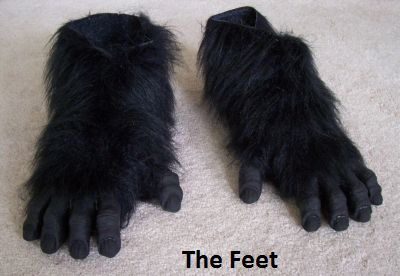 Your costume will be custom-made in your size. & UndeadMonsters - Gorilla Suits Gorilla Costumes Gorilla Suit ...